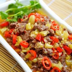 小炒黄牛肉的做法[图]
