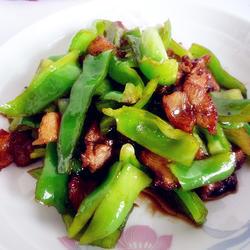 五花肉豆豉炒青椒的做法[图]