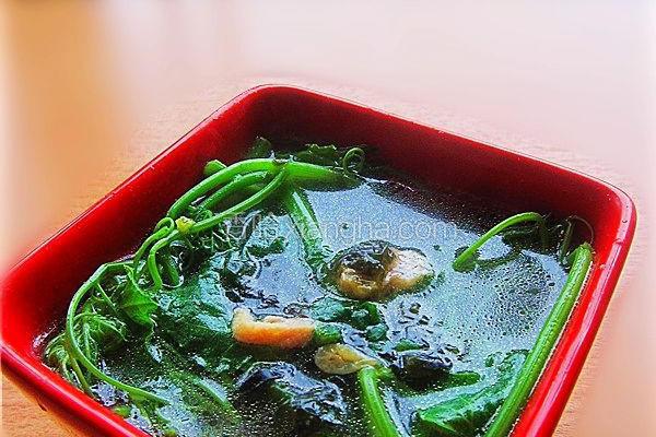 龙须菜清汤