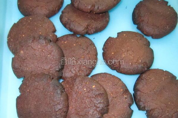 榛子巧克力饼干