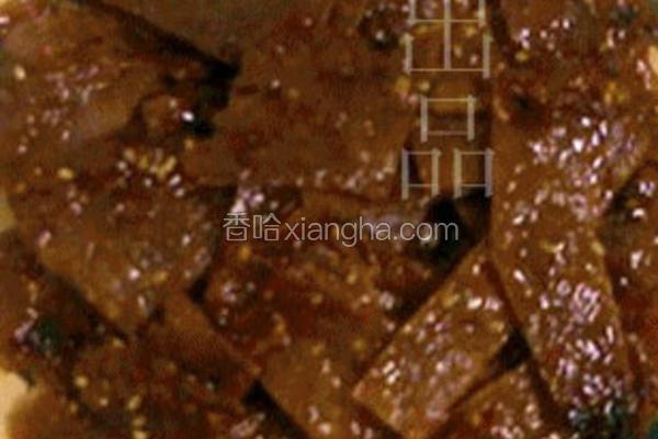 黑椒蜜汁猪肉脯