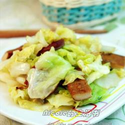 小炒圆白菜的做法[图]