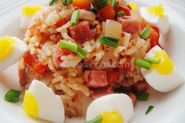 红椒圆葱焖饭