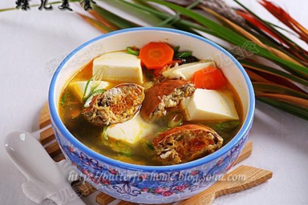 豆腐河蟹汤