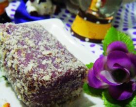 紫薯小甜品