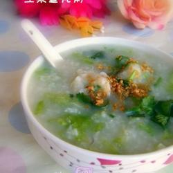 生菜鱼丸粥的做法[图]