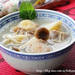 杂菇煲牛尾骨汤的做法[图]