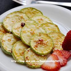 芝香椒油西葫芦的做法[图]