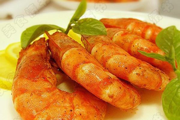 大蒜柠檬虾