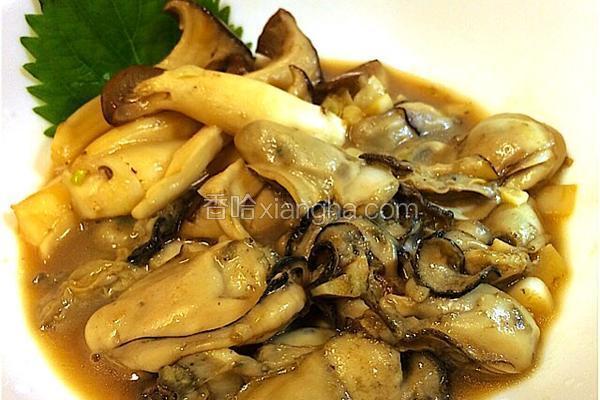 黄油小炒牡蛎杏鲍菇