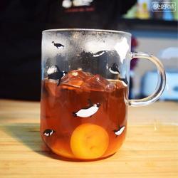 冬雪北京 罗汉果金橘茶