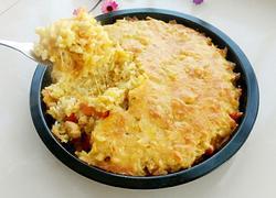 咖喱鸡肉土豆焗饭