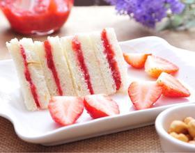 自制草莓酱三明治[图]