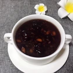 黑米红枣粥