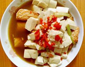 三文鱼炖豆腐[图]
