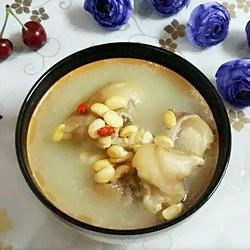 猪脚黄豆汤