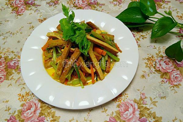 芹菜炒豆干