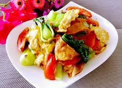 鸡蛋蔬菜炒饼