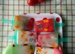 自制水果酸奶雪糕