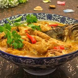 豆参煮鱼头