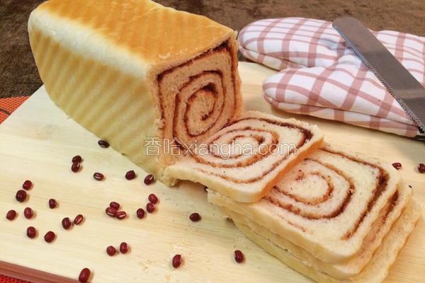 红豆沙奶香吐司(230g)