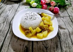 咖哩牛肉饭