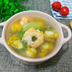 扇贝海鲜汤