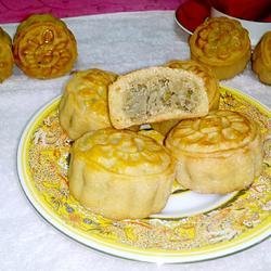 广式绿豆沙月饼