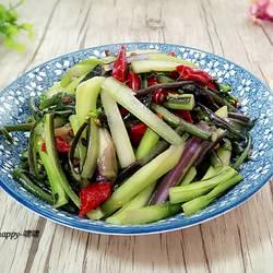 炝炒紫菜苔