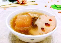 花生眉豆猪尾汤