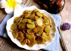 素炒绿豆饼