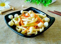清炒白玉菇