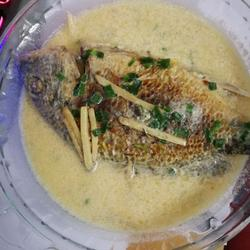 牦牛奶黄翅鱼汤