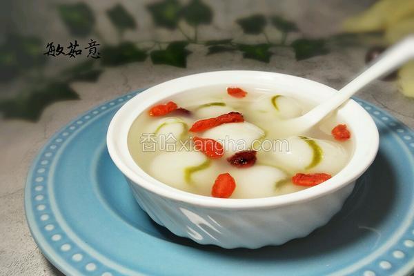 炫彩水果汤圆