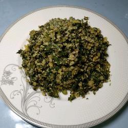 蒲公英菜豆腐