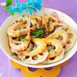蒜香莲藕虾的做法[图]