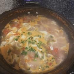 西红柿鸡蛋手擀面的做法[图]