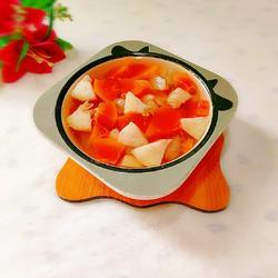 番石榴木瓜甜汤