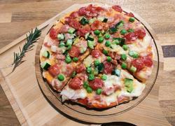 微波炉版披萨