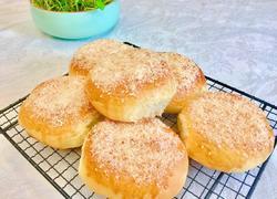 椰蓉豆沙面包