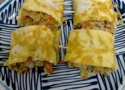 鸡蛋糯米卷