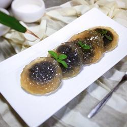 荷香水晶饼