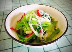 小白菜拌粉丝