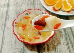 银耳红枣马蹄糖水