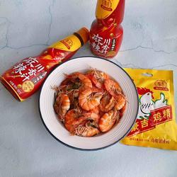 葱香炒虾的做法[图]